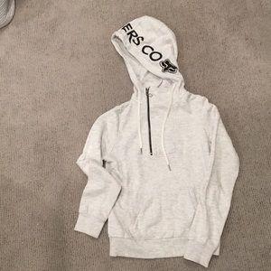 Fox gray hoodie